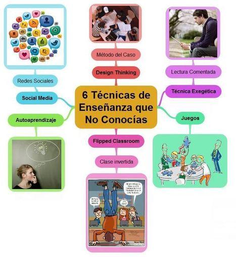 6 Técnicas de Enseñanza que NO Conocías | Innovaciones Educativas | Scoop.it