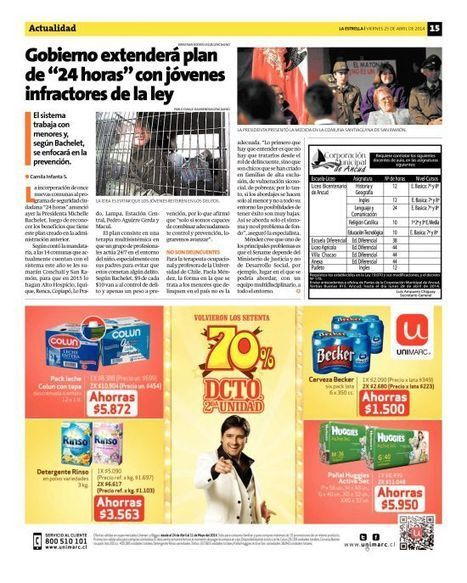 Página 15 - La Estrella de Chiloé - 25.04.2014   terapia ocupacional   Scoop.it