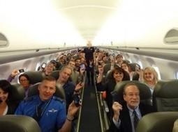 Merci de ne plus couper vos téléphones durant la durée du vol ! | Tourisme | Scoop.it