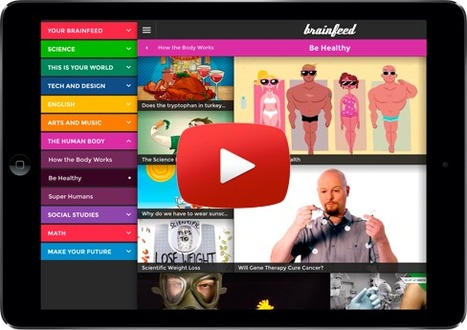 Brainfeed – Educational Videos for Kids.  Check out our wonderful app for inspiring, engaging, and educating kids age 7 and up. :) | ★ Wired Education Tech ★ | Scoop.it