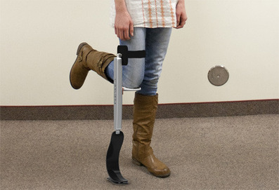 Running Start: Temporary Prosthetic for Lower Leg Injuries | Gadgets, Science & Technology | shubush healthwear | Scoop.it