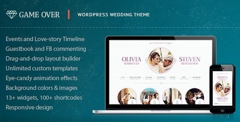 Game Over - Responsive Wedding Event Planning | wedding wordpress themes | Scoop.it