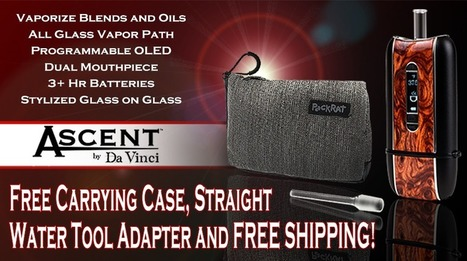 Ascent, the 3-in-1 portable vaporizer by DaVinci | Vaporizers | Scoop.it