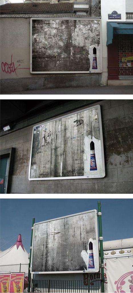Plus de 500 publicités de Street Marketing extraordinaires ! – Partie 2 | ConseilsMarketing.fr | Campaigning | Scoop.it