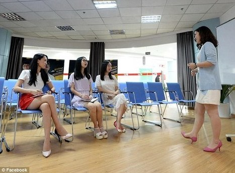 Chinese companies hiring 'cheerleaders' to motivate male employees | CNS business studies | Scoop.it