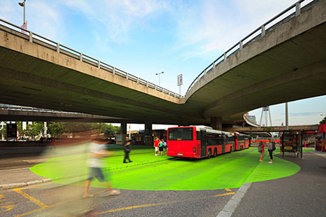 Bratislava's Green Square   green streets   Scoop.it