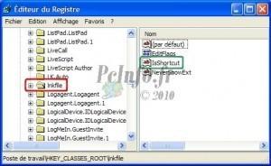 31.Comment Supprimer les flèches sur les icônes raccourcis du bureau Windows XP ?   Cours Informatique   Scoop.it