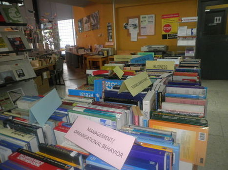 Book & Garage Sale at the Library today - Don't miss out on our amazing deals! | University of Nicosia Library | Scoop.it