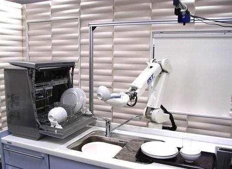 El robot en el banco, el robot en la tienda de ropa, el robot que prepara el café... | tecno4 | Scoop.it
