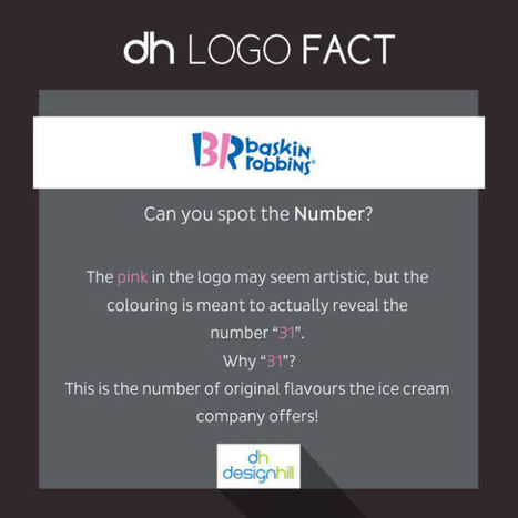 The Hidden Meanings Behind The Famous Logos Of Your Favourite Brands   Inspired By Design   Scoop.it
