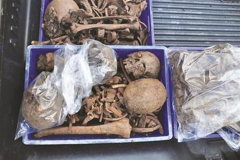 Skeletons found in Roman tomb - Hurriyet Daily News | Augustus - Princeps, Rome and the Roman Empire | Scoop.it