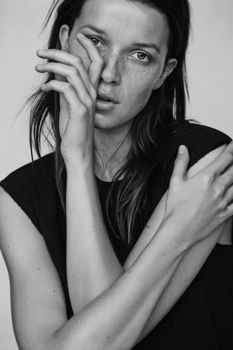 [editorial] Hanna Sørheim by Sascha Oda for Costume Magazine December 2015 | Fashion & more... | Scoop.it