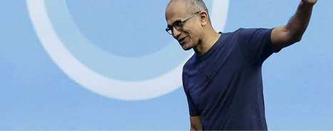 Satya Nadella, l'homme qui réenchante Microsoft   Leadership et Management   Scoop.it