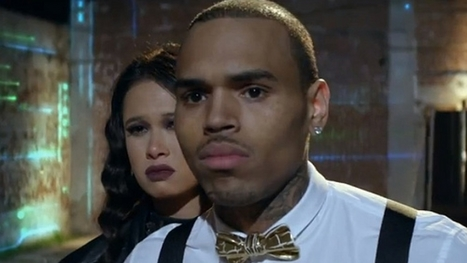 """Chris Brown """"It's alright I'm not dangerous, when you're mine I'll be generous"""" 