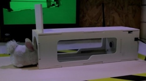 Raspberry Pi mouse trap humanely captures wayward rodents - Geek | Raspberry Pi | Scoop.it