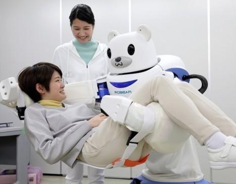 Robear: le robot infirmier qui prend soin des patients | Ressources pour la Technologie au College | Scoop.it