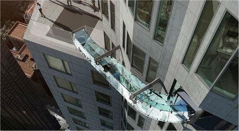 Glass 'Skyslide' danger 70 stories up? Broken ankle lawsuit - MyNewsLA.com | Los Angeles Accident Attorney News | Scoop.it