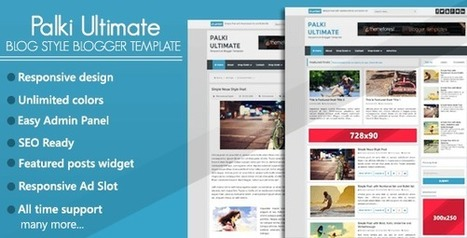PALKI ULTIMATE | Blogger themes | Scoop.it