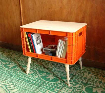 Cómo hacer libreros con cajas de leche o de cerveza | Noticias de ecologia y medio ambiente | Uso inteligente de las herramientas TIC | Scoop.it