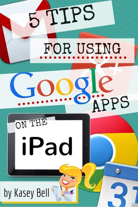 5 Tips for Using Google Apps on an iPad | Have iPad will Teach | Scoop.it