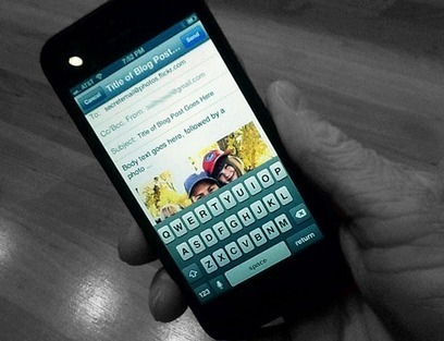 5 Ways to Blog From Your Mobile Device   Links sobre Marketing, SEO y Social Media   Scoop.it