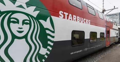 Starbucks : Un wagon dédié dans des trains suisses   Atmosphère   Scoop.it