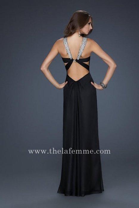Halter Sequin Strap Black La Femme 17441 Prom Dresses For You [La Femme 17441] - $169.00 : The La Femme | La Femme Dresses | Cheap La Femme | girlsdresseshop | Scoop.it