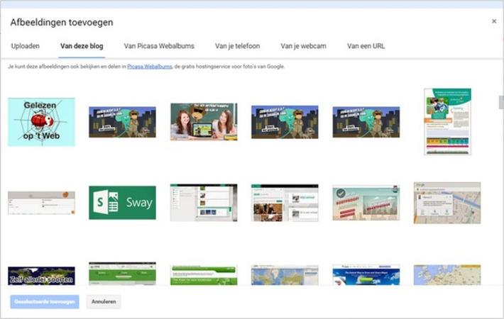 Edu-Curator: Waar vind je jouw Blogger blog afbeeldingen? | Educatief Internet - Gespot op 't Web | Scoop.it