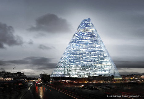 Tour Triangle – Herzog & DeMeuron | Tour Triangle | Scoop.it