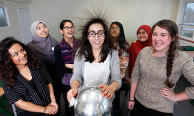 Why don't more girls study physics? | Amateur and Citizen Science | Scoop.it