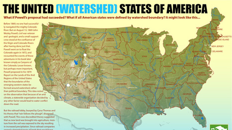 A map of what the state boundaries in the U.S. might have been | Geography | Scoop.it