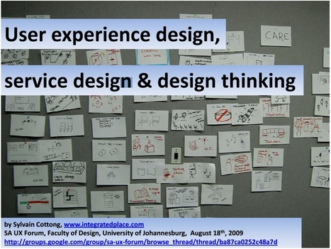 UX design, Service design and Design thinking | UX Design | Scoop.it