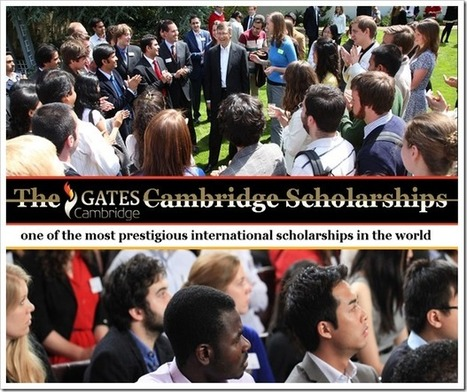 The Gates Cambridge Scholarships | bioinforamtics | Scoop.it