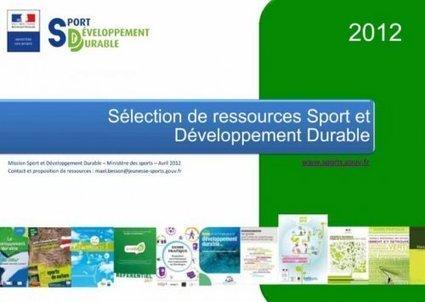 Le Centre de Ressources Sport et Développement Durable - [CDURABLE.info l'essentiel du développement durable]   Sport durable   Scoop.it