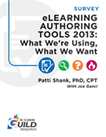 The eLearning Guild : eLearning Authoring Tools 2013: What We're Using, What We Want : Research Library | Teaching in the XXI Century | Scoop.it