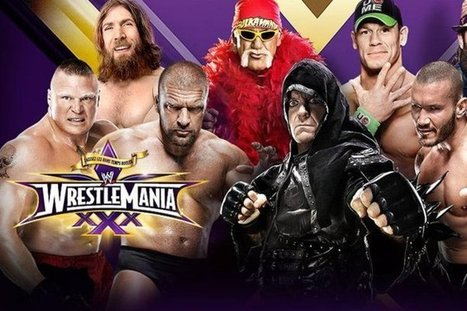 WrestleMania 30 – Live WWE Matches Daniel Bryan, Brock Lesnar, The Undertaker and More, AfterHours | wesrch | Scoop.it