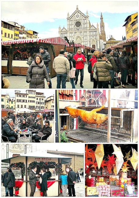2013 German Christmas Market-Santa Croce | An American in Italy | Italia Mia | Scoop.it