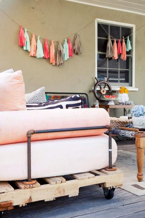 Projets diy de meubles patio à essayer absolument! | hoe zelf maken | Scoop.it