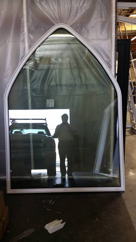 It was just finished in our factory but we could not wait to show it to you because of its humongous size, you can probably judge by the reflection of the truck how large it really is. | Intelligent Tips for Windows and Doors | Scoop.it