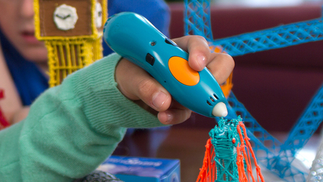 A New Kid-Safe Version Of The 3Doodler Melts Plastic Without Burning Fingers - GIzmodo | iPads, MakerEd and More  in Education | Scoop.it