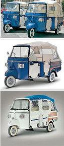 Piaggio first branded three wheeler to enter world market | Vespa Stories | Scoop.it