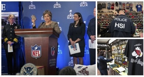 $19.5 Million Worth of Fake NFL Goods Was Seized in One of the Largest Sports-Related Counterfeit Operations | Textiles | Scoop.it