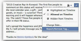 """How to """"Untag"""" yourself from a Facebook comment ~ Facebook Tips and Tricks 