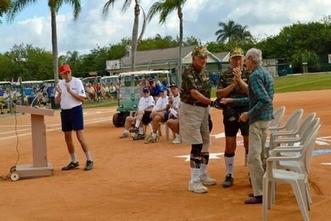 History & hits: Citrus Park softball honors World War II veterans - Naples Daily News | World at War | Scoop.it