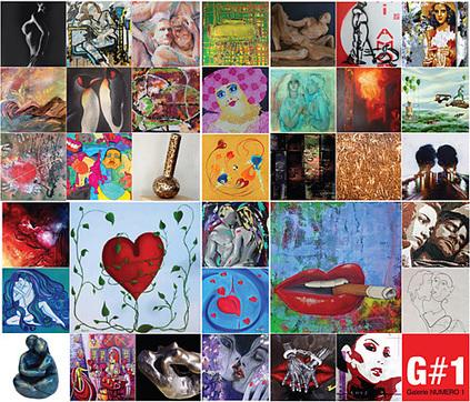 J-1 mardi 10/02 vernissage expo LOVE etc … - Galerie Numéro 1 | Art Exhibition in Paris | Scoop.it