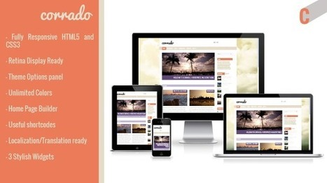 Corrado – Responsive Magazine WordPress Theme - Wpthemetuts | Latest Wordpress Themes | Scoop.it
