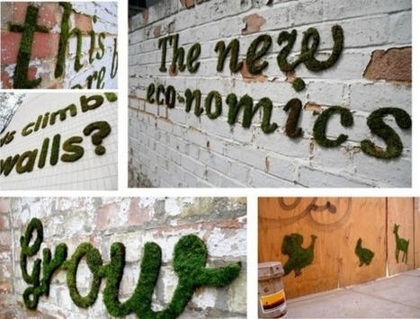 How to Create Moss Graffiti. | Ethical Innovation | Scoop.it