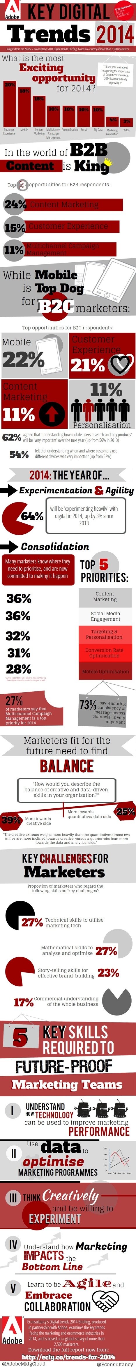 Customer experience is the most exciting opportunity for marketers [infographic] - Econsultancy | #TheMarketingTechAlert | Experience Economy | Scoop.it