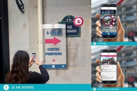 [ARTICLE CLIC] La ville de Paris lance deux applications pour inciter les supporters de l'Euro 2016 à explorer le patrimoine de la ville   Musées et numérique   Scoop.it