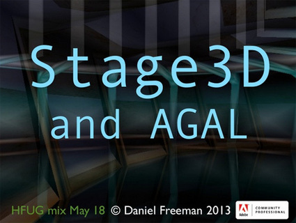 Slideshare: Stage3D and AGAL Fundamentals of... | Everything about Flash | Scoop.it